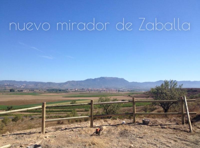 Nuevo Mirador de Zaballa en Casalarreina