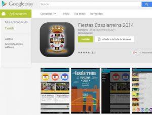 Nueva Aplicación para móviles de las Fiestas Casalarreina 2014