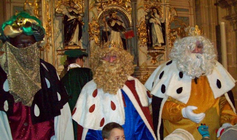 Sus Majestades los Reyes Magos llegan a Casalarreina