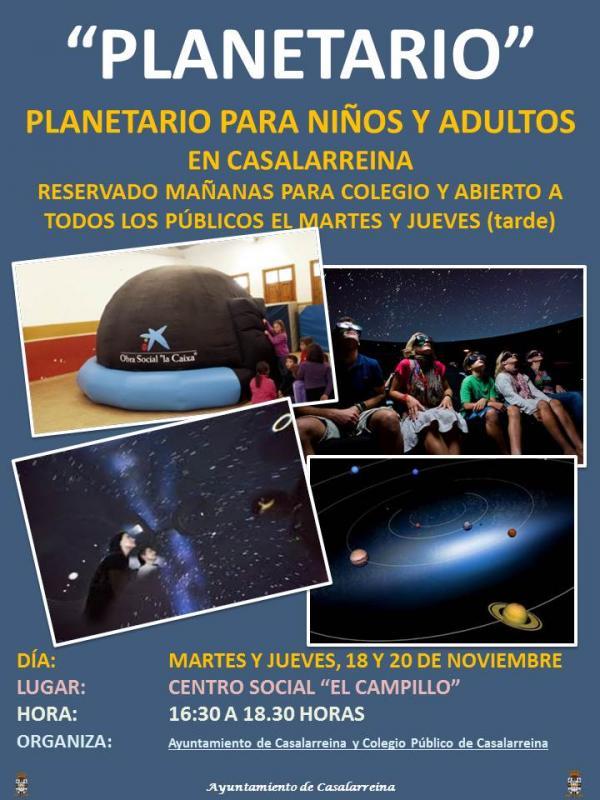 Planetario en Casalarreina