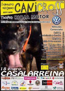 Vídeo espectacular del Canicross Casalarreina 18-1-2015