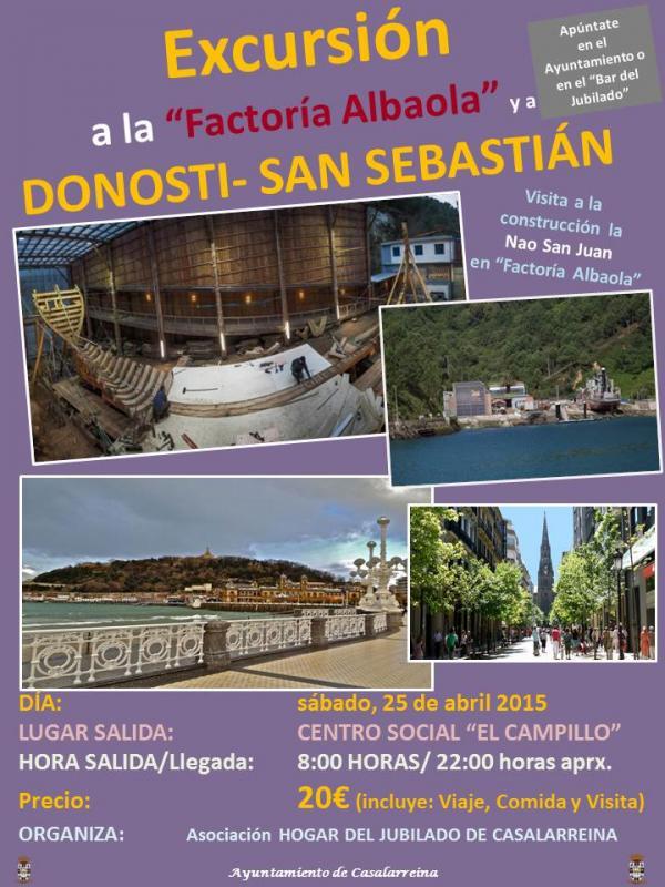 Excursión Donosti-San Sebastián