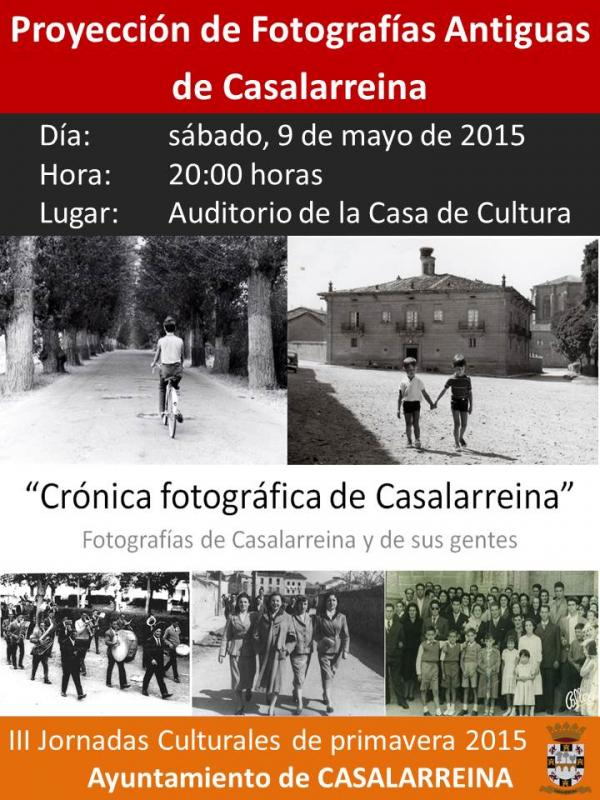 Proyección Fotografías Antiguas de Casalarreina
