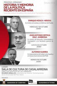 Historia y Memoria de la Política reciente en España