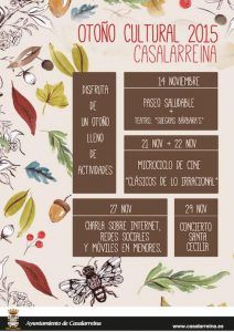 OTOÑO CULTURAL 2015 Casalarreina
