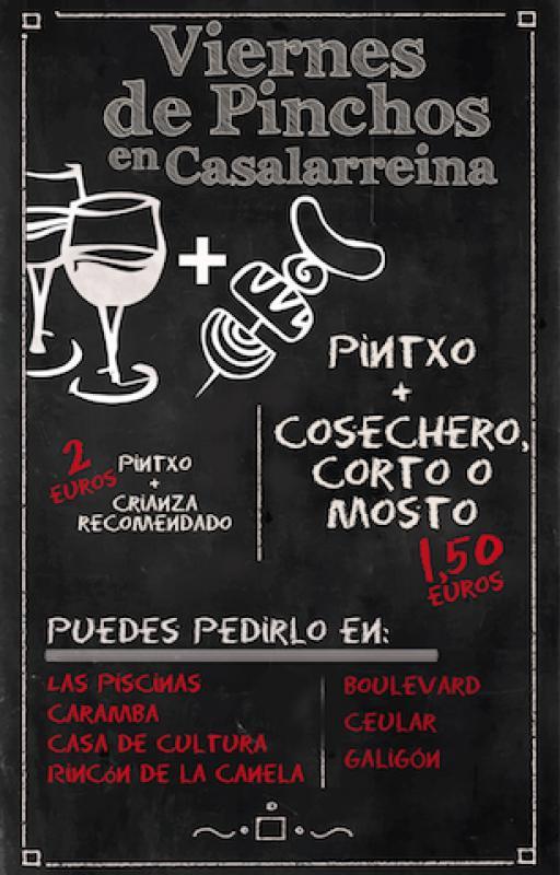 Viernes de Pinchos en Casalarreina