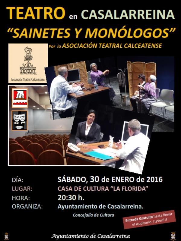 Teatro en Casalarreina