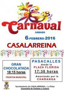 Carnaval 2016 en Casalarreina