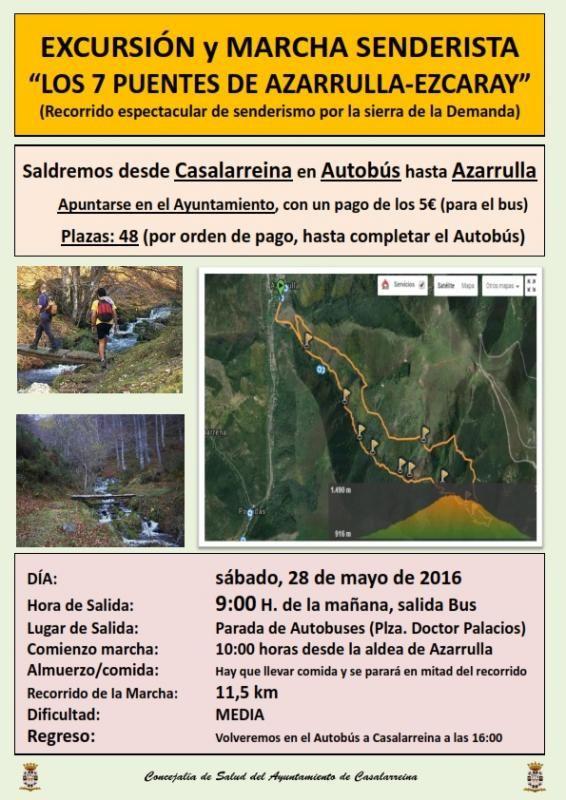 """Excursión Senderismo """"7 Puentes"""" Ezcaray-Zaldierna"""