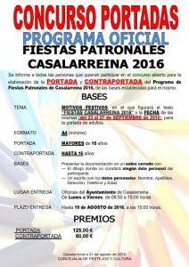 Concurso de Portadas Fiestas de #Casalarreina 2016
