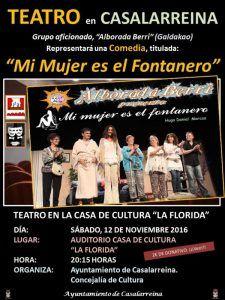 """Teatro """"Mi mujer es el Fontanero"""""""