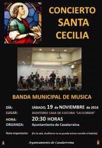 Concierto Santa Cecilia 2016 Jornadas Culturales