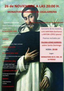 Concierto y lectura de Poesía en el Monasterio de la Piedad
