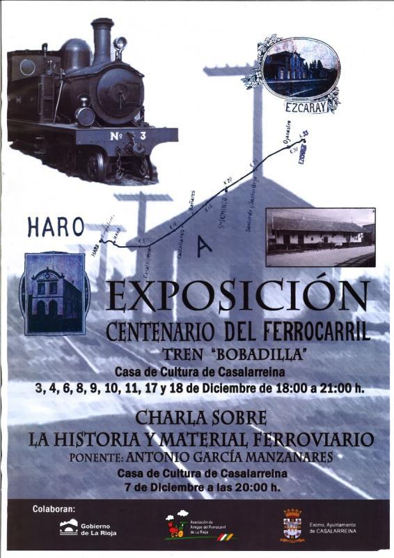 Exposición sobre el Ferrocarril Haro-Casalarreina-Ezcaray