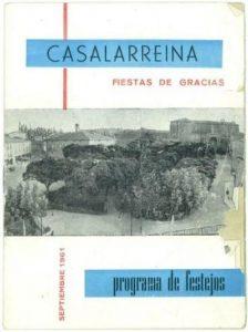 PROGRAMAS ANTIGUOS DE FIESTAS (1961)