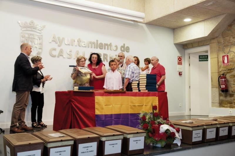 Reconocimiento y Homenaje a los asesinados durante la Guerra Civil en Casalarreina