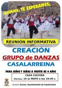 Grupo de Danzas en Casalarreina