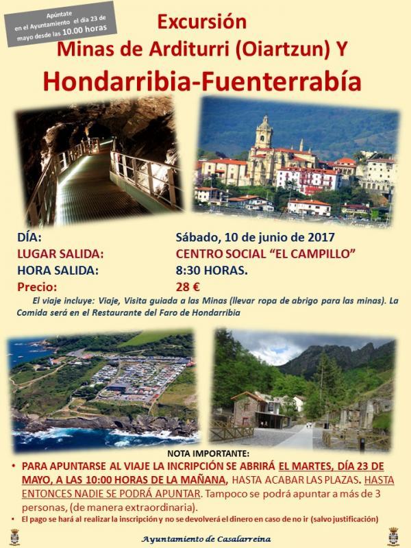 Excursión a Hondarribia-Fuenterrabía