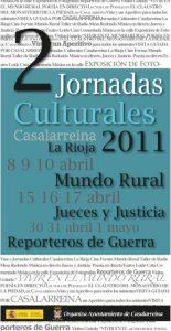 Presentadas las II Jornadas Culturales de Casalarreina