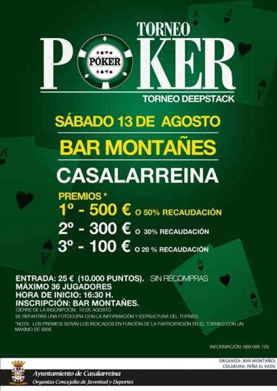 I Torneo de Poker Casalarreina
