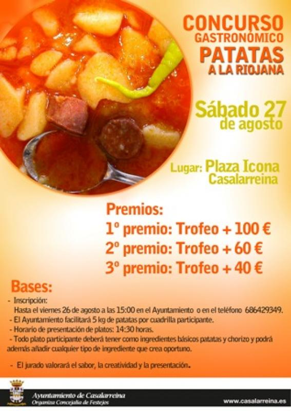 Concurso de Patatas a la Riojana