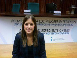Tania Álvarez, de Casalarreina, el mejor expediente académico