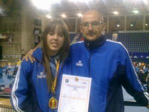 Tamara Férnandez, campeona de España de Taekwondo por Clubes