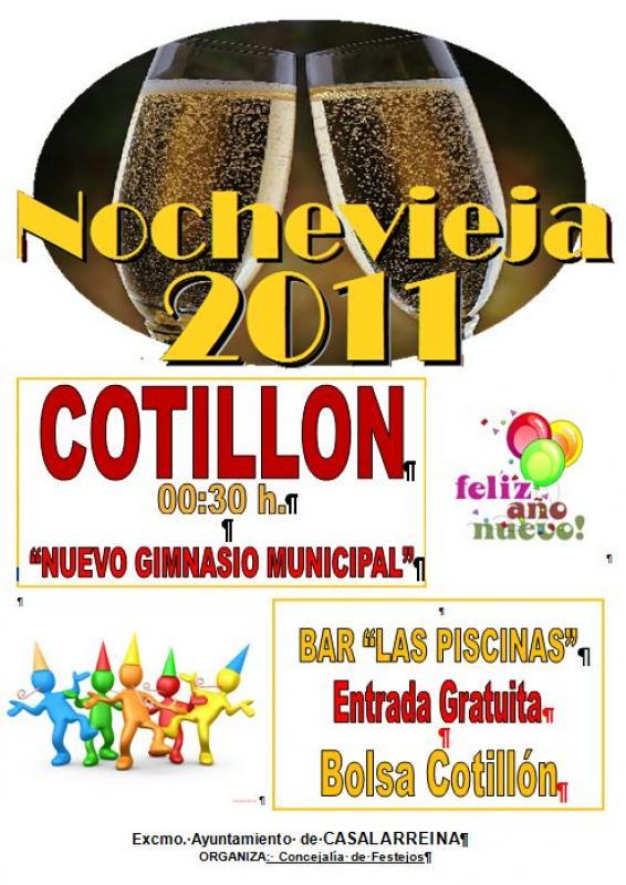 Cotillón de Nochevieja 2011 en Casalarreina