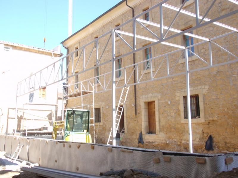Las Obras de la Nueva Casa de Cultura de Casalarreina