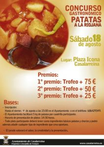 II Concurso de Patatas a la Riojana en Casalarreina