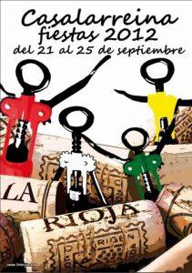 Programa Oficial de Fiestas de Casalarreina 2012