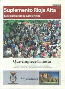 Suplemento en La Rioja sobre Casalarreina y sus fiestas