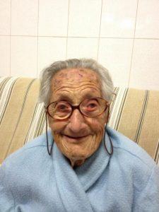 Romana Herrera cumple 100 años