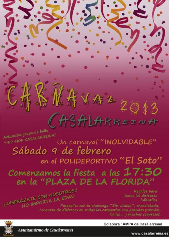 Carnaval 2013 Casalarreina