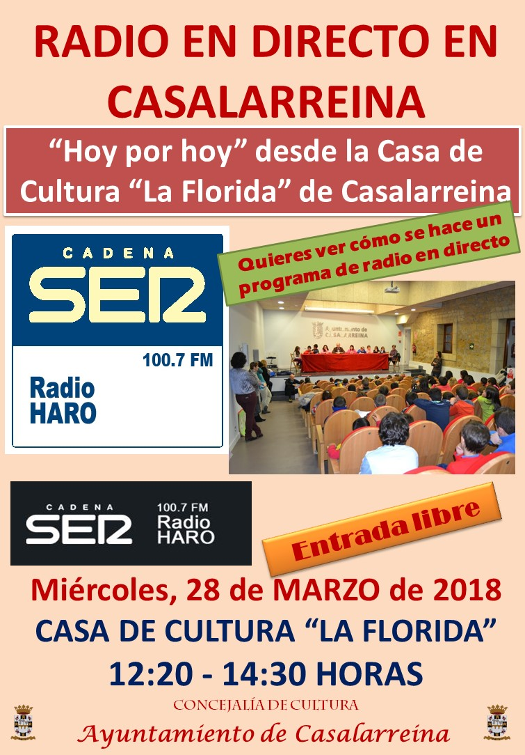 Radio en directo desde Casalarreina
