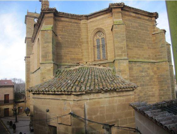 Solicitud de subvención para el arreglo de la cubierta de Iglesia de San Martín