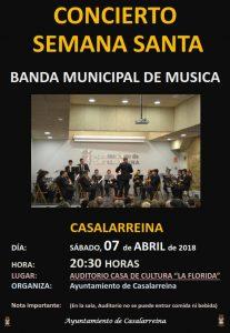 Concierto de la Banda: sábado, 7 de abril a las 20:30 horas