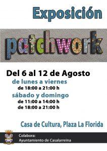 Exposición Patchwork en Casalarreina (del 6 al 12 de agosto de 2018)