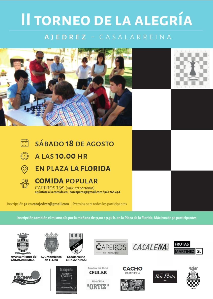 II Torneo de la Alegría de AJEDREZ en Casalarreina