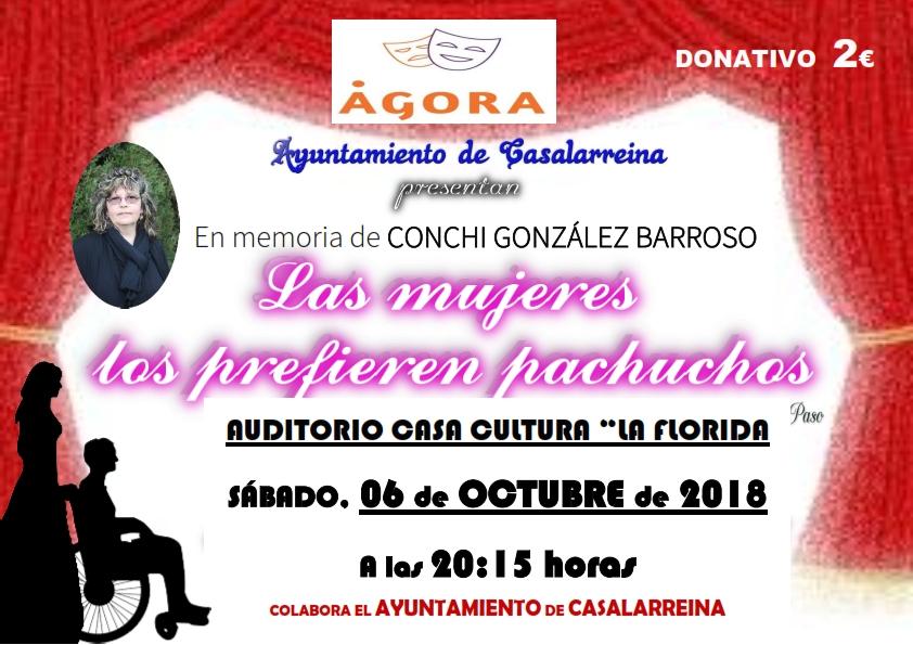 Teatro en Casalarreina 6-10-2018