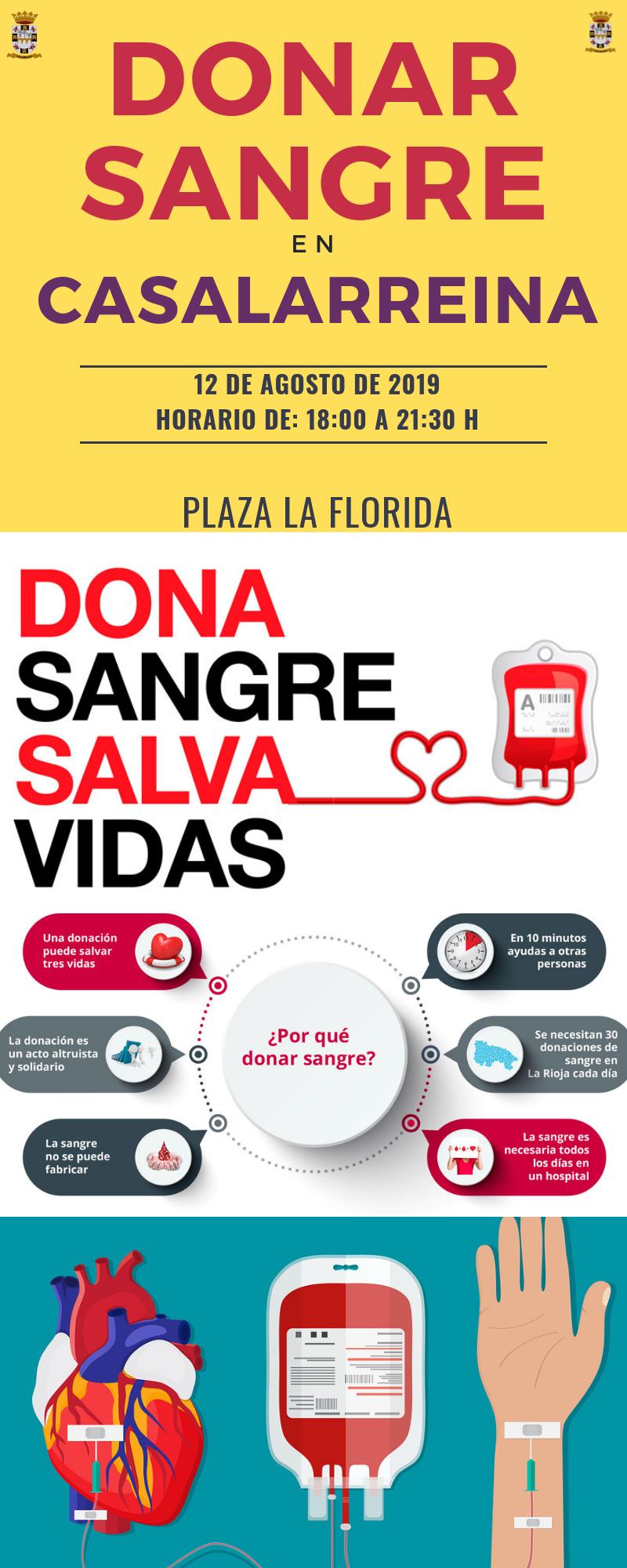 Donación de Sangre en Casalarreina