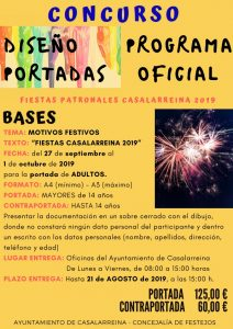 Concurso de Portada del Programa de Fiestas 2019