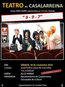Teatro en Casalarreina 30-11-2019