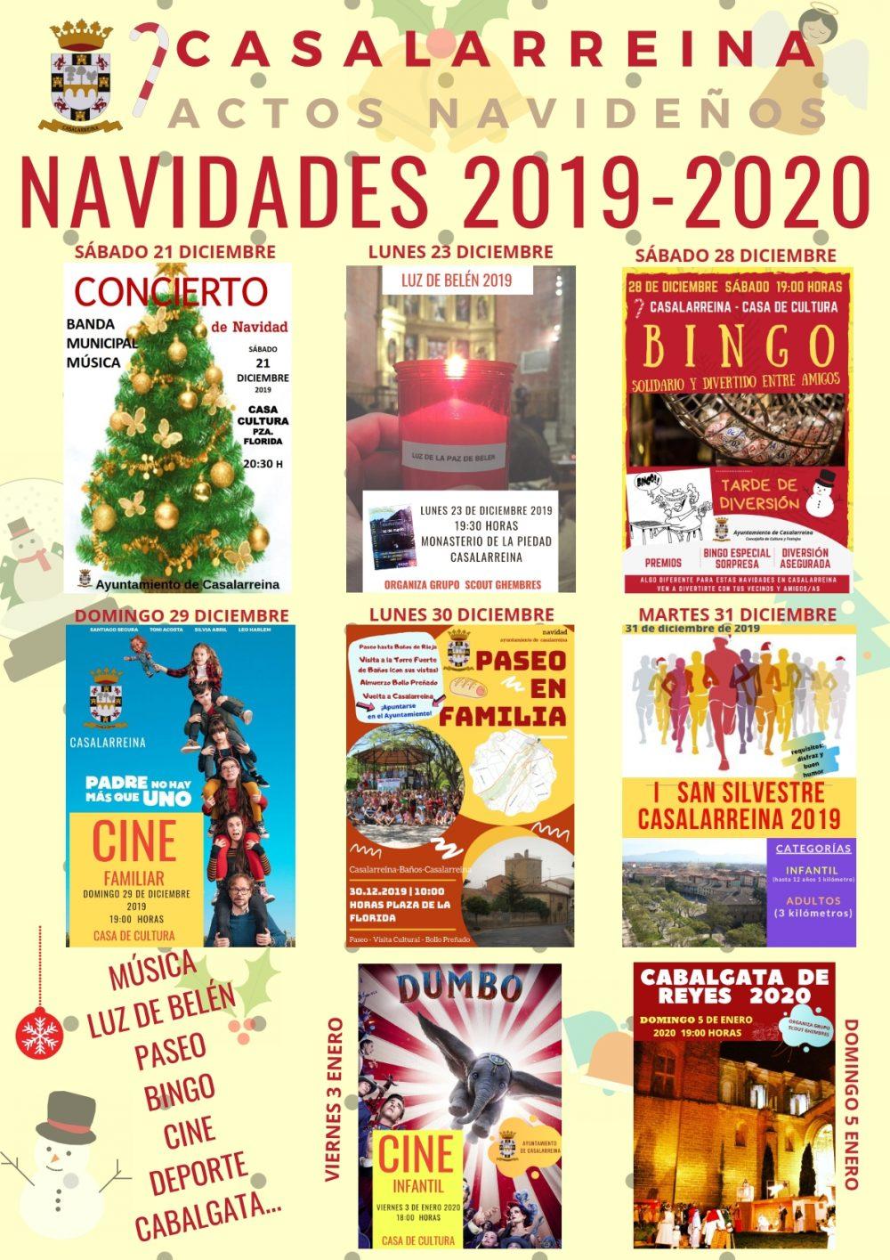 Actividades de Navidad 2019