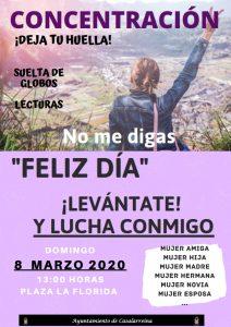 8 de marzo, día de la Mujer en Casalarreina