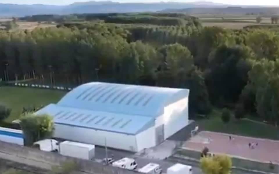 """El Frontón Polideportivo """"El SOTO"""" de Casalarreina reabre sus instalaciones"""
