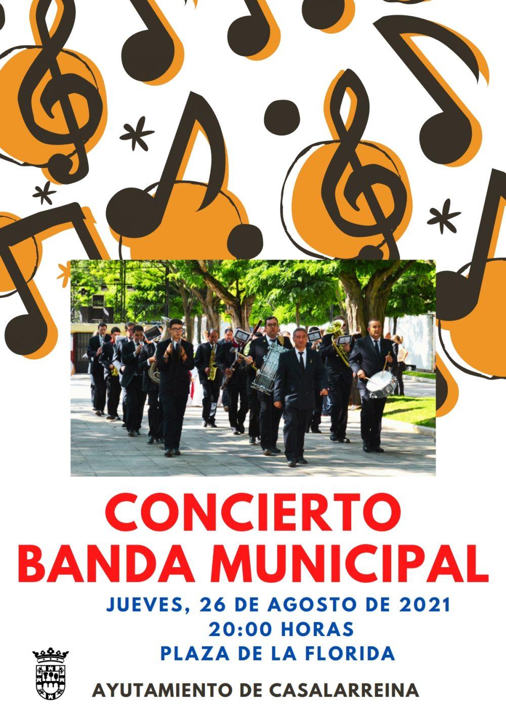 Concierto de la Banda Municipal de Casalarreina